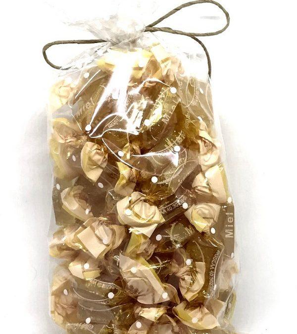 Caramelos de miel de Apícola Costa Azahar: 250 gramos de felicidad