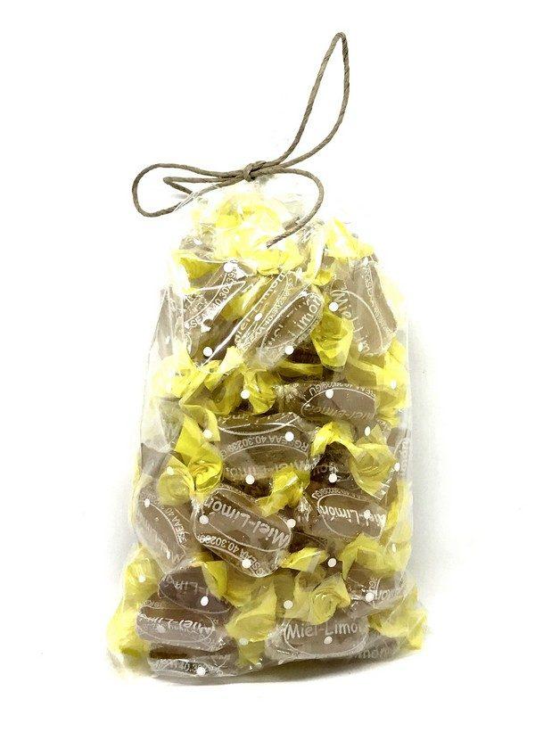 caramelos de miel con limon