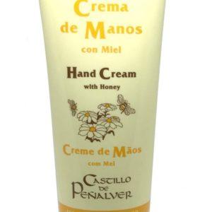 crema de manos con miel
