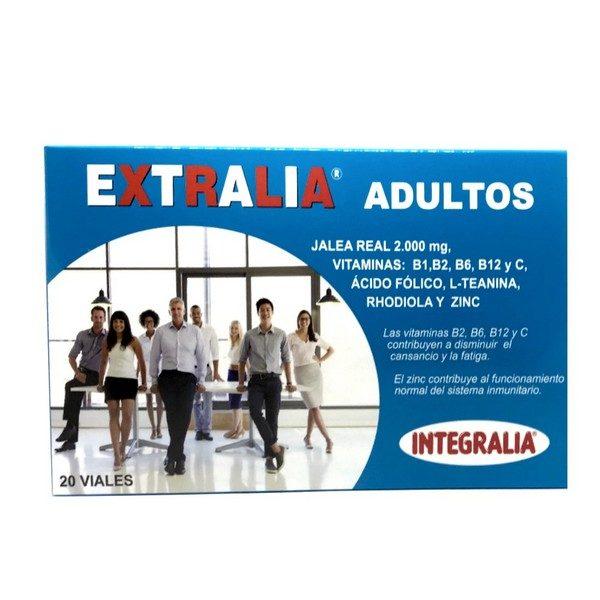 extralia adultos con jalea real