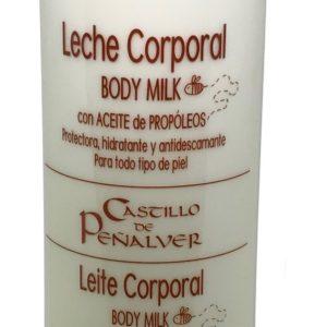 leche corporal con aceite de propoleo