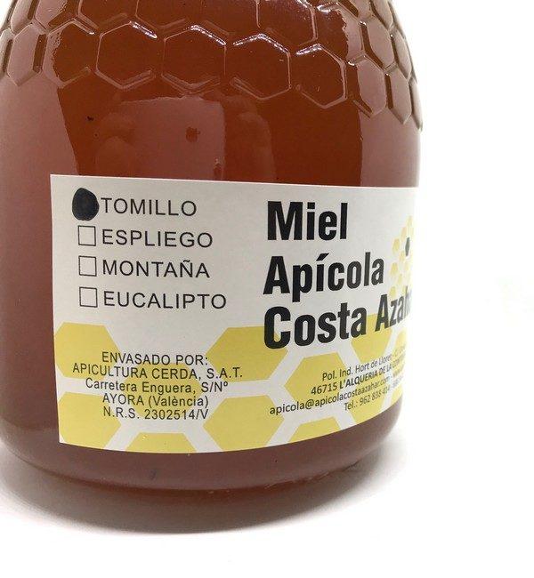 miel artesanal de tomillo 3