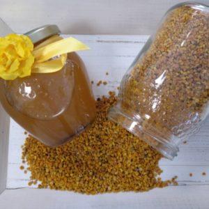 miel de naranjo mas polen