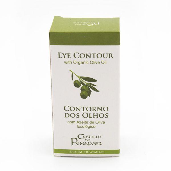 contorno ojos con aceite oliva ecologico