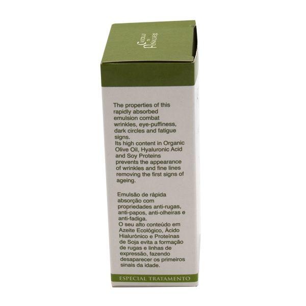 contorno ojos con aceite oliva ecologico ingredientes