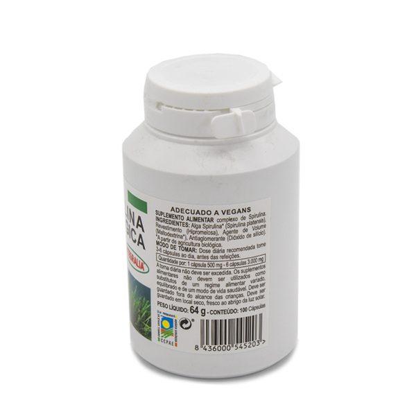 alga spirulina ecologica ingredientes
