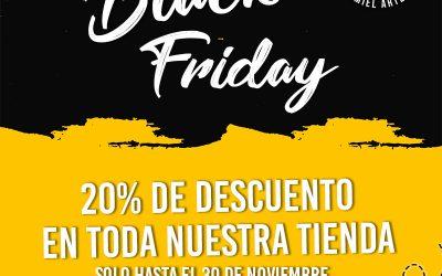 Llega el Black Friday a Apícola Costa Azahar.