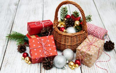 Cestas de navidad originales y naturales