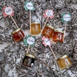 muestra de miel