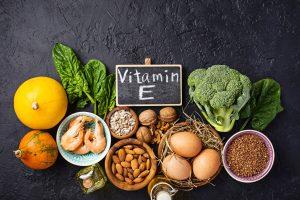 Vitamina E cambio estacion