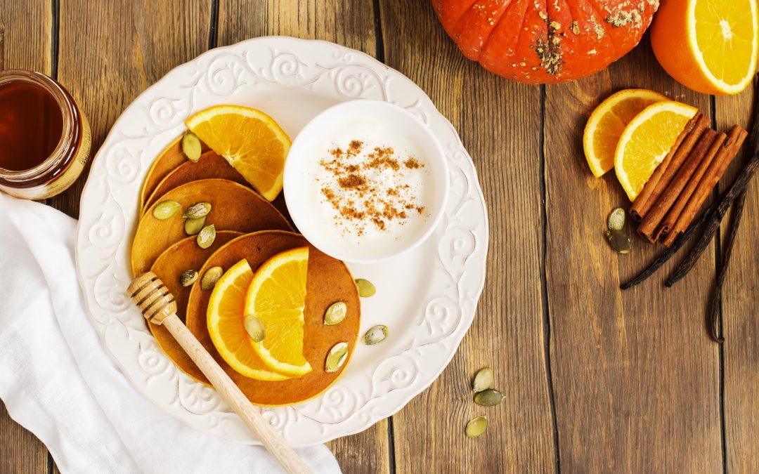 Receta especial Halloween: tortitas de calabaza y miel