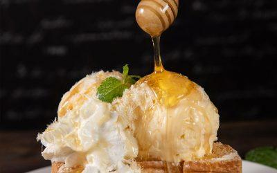 Receta fresquita: helado de miel para este verano